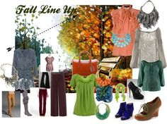 Fall Line Up, created by shaley1 on Polyvore