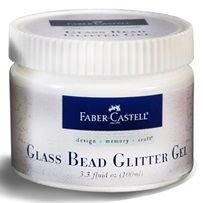 Glass Bead Glitter Gel