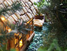 Refugio de Montaña hecho de Galletas de Navidad Shelter, Empanadas, Canapes, Grill Pan, Outdoor Decor, Tortilla, Hummus, Baby Shower, Squash Zucchini Recipes