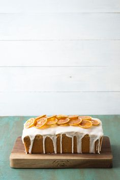 Lemon Pound Cake via Sift & Whisk Cupcakes, Cupcake Cakes, Lemon Recipes, Cake Recipes, Candied Lemon Slices, Sweets Cake, Biscuits, Piece Of Cakes, Love Cake