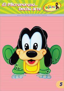 Miss Dorita: Portalapices Goofy Bebe