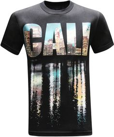California Republic Cali Reflection Men's T-Shirt