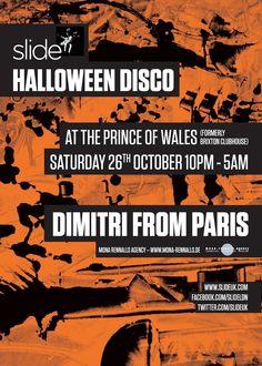 Slide's Halloween Disco   The Lambeth   London   https://beatguide.me/london/event/the-lambeth-slide-s-halloween-disco-20131026/poster/