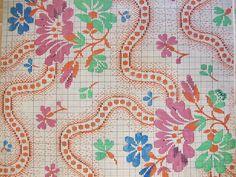 Pattern for silk weaving, 1800. (Source: Kommercekollegiet, Industri- og fabriksfagets sekretariat. Instruktionsbog til silkevævning, 1800. (pk. 2708).