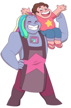 when all u wanted was for steven to get a new mom but all u got were tears Steven and Bismuth Bismuth Steven Universe, Cartoon Network Tv Shows, Steven Universe Characters, Steven S, Universe Art, Fanart, Teen Titans, To My Daughter, Cartoons