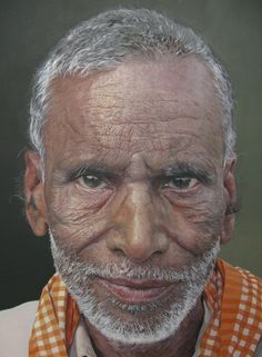 BP Portrait Awards  Unbelievably an oil painting by Edward Sutcliffe!!!