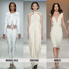 White on white - Top 10 Trends from Toronto Fashion Week for Spring 2015 | 29secrets