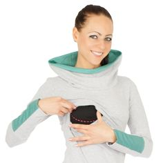 Umstands-& Stillshirt SMARAGD GoFuture TOP-QUALITY