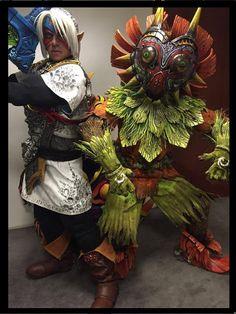 Legend of Zelda Majora's Mask Cosplay
