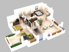 1000 Images About 3d Plans On Pinterest Floor Plans 3d And Apartments