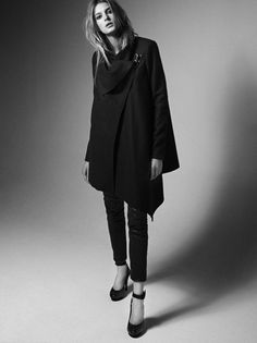 All Saints Spitalfields London campaign (2011-2012 fall-winter) - once more for the coat. Love it.