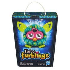 Furby Boom Furbling Furblings Creature PEACOCK FEATHERS - New in Box