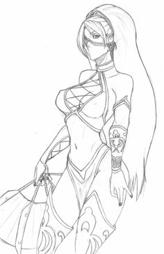 Mortal Kombat Jade by on DeviantArt Manga Drawing, Drawing Sketches, Drawing Ideas, Sexy Drawings, Art Drawings, Mortal Kombat Art, Art Reference Poses, Anime Sketch, Erotic Art