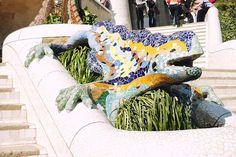 La salamandre du parc Guell