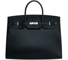 There's a brand new Hermes Birkin in town, and this one is a modern minimalist. -via Purseblog
