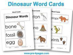 Printable Dinosaur W
