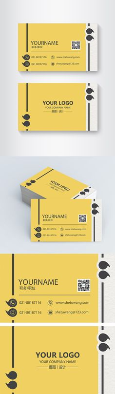 Simple creative yellow geometric business card Simple, creative, yellow, geometric, concise, concise, business card, high-end, general business card, business card template, business card design, business template, business card, personal business card, business card Business Card Psd, Free Business Card Templates, Simple Business Cards, Business Card Design, Creative Business, Digital Media Marketing, Business Planning, App Design, Free Photos