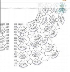 Crochet Vest Pattern Knit Crochet Crochet Patterns Crochet Baby Booties Baby Girl Crochet Crochet For Kids Baby Knitting Hand Embroidery Baby DressDuplicate from picture no patternBeris Agnew's media statistics and analyticsThis model is a cardigan t Diy Crochet Vest, Col Crochet, Gilet Crochet, Diy Crafts Crochet, Crochet Vest Pattern, Crochet Blouse, Crochet Chart, Crochet Motif, Crochet Stitches