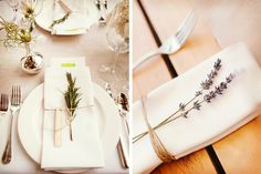 Seis ideas para las servilletas de la boda