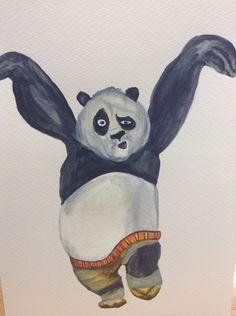 So I decided to draw Po :)