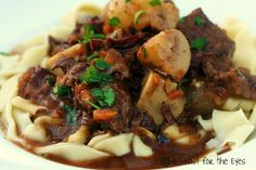 Pressure Cooker Beef Bourguignon @ Pressure Cooking Today