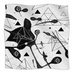 """East Urban Home Geometric by Li Zamperini Fleece Blanket Size: 90"""" L x 90"""" W"""