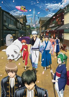 Gintama 銀魂 the other manga and anime that I love.