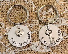 You Will Forever Be My Always Heart Keychain by ClassyCraftsbyAsh