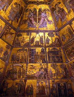 Parete del Battistero di Firenze: Mosaici Biblici #TuscanyAgriturismoGiratola