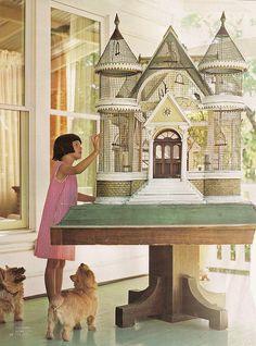 magical castle birdhouse