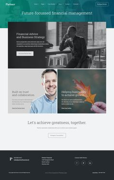 Professional free corporate web design template pinterest partner accounting and law template with variant page builder law firm websitebusiness maxwellsz