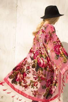 Pink Lulu Kimono