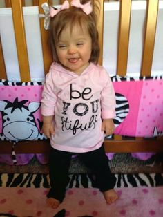 Be{YOU}tiful! ♥ Down syndrome awareness
