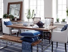 blue and white stripes - wonderful flat weave rug for the beach!  http://caronsbeachhouse.com/coastal-area-rugs/coastal-hand-woven-flatweave-rugs.html?mode=grid