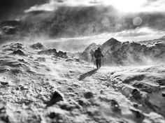 Trekkers brave snowy weather in the Lake District of England in this National Geographic Photo of the Day.