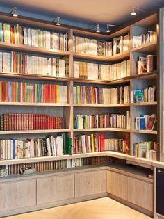 Une bibliothèque sur mesure signée Xavie'z