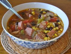 http://thesouthernladycooks.com/wp-content/uploads/2013/08/Ham-and-Black-Bean-Soup.jpg