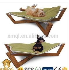cross pet hammock green pet lounge studios   totally want this for all the critters that lounge in my backyard to boy pet girl richell take bamboo foldable pet hammock   94804   products      rh   pinterest