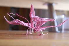DENTELLE A LAIGUILLE - papillon