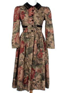 1980s BARONESS DRESS