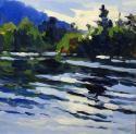Cove Light, Pierce Pond, Keith Oehmig