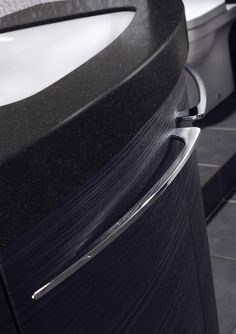 Noir black worktop from Utopia Bathrooms.