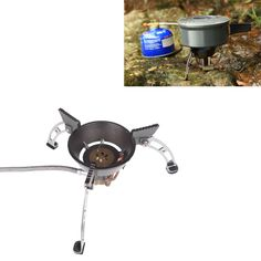 Portable  #gasstove enjoys great popularity among this outdoor lovers! Super mini design and practical use bring you much pleasure for camping. Never miss it! http://www.tomtop.cc/jqeqUz