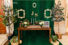 To bring to life Toronto couple Jen and Shana's vision of an ultra-glamorous garden-inspired wedding, Fab Fete combined luscious greenery, opulent golds. Greenery, Wedding Styles, Real Weddings, Wedding Inspiration, Table Decorations, How To Plan, Garden, Home Decor, Homemade Home Decor