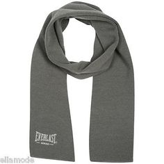 Everlast #boxing rrp £12 mens grey knitted winter #scarf free uk #shipping new,  View more on the LINK: http://www.zeppy.io/product/gb/2/390840656453/