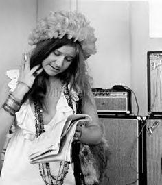 Janis Joplin; I believe this is at the Newport Folk Festival