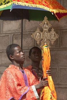 Ethiopian Orthodox: Procession with the Cross