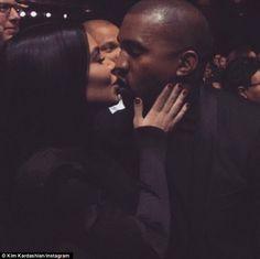 New Music Videos, Reality TV Shows, Celebrity News, Pop Culture Kardashian Kollection, Kardashian Jenner, Kim Kardashian Kiss, Kardashian Family, Kardashian Photos, Kanye West Smiling, Kim K And Kanye, Kim K Style, Love N Hip Hop