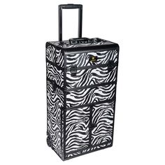 REBEL Series Pro Makeup Artists Rolling Train Case Trolley Case - Zoo attack - TRAIN CASES Trolley Case, Train Case, Professional Makeup Artist, Makeup Artists, All About Eyes, Hair Tools, Just In Case, Rebel, Makeup Looks