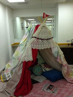 Set your den up anywhere - Save The Children Den Day